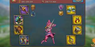 Lords Mobile 680m Might War/Trap Account (Negotiable)