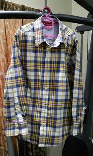 Raya Sale Original Gap Kids Shirt Long Sleeve