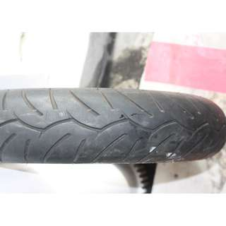 Used tyre Dunlop tubeless 110/90-13 m/c 55p for scooter