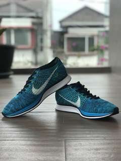Nike Flyknit Racer 'Blue Cactus'
