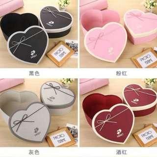 Flowers & Gifts Box-Classic Heart Shape Box-Chocolate & Candy Box