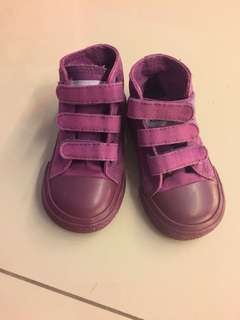 Unisex Purple Shoe