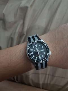 Seiko dive diving watch 200m mechanical Automatic