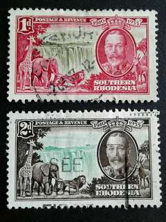 1935 Southern Rhodesia stamps