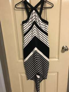 Fresh Soul - Black & White Dress
