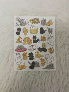 EXO cat sticker