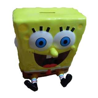 Spongebob Coin Bank Ceramic