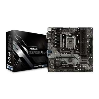 ASROCK Z370M Pro4 mATX Motherboard