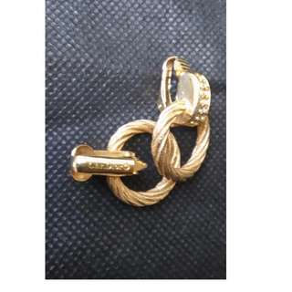 Authentic Dior elegant clip earring