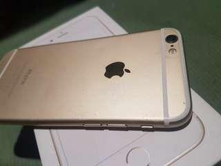 Iphone 6 32gb gold factory unlock under warranty