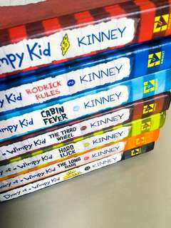 Diary of a Wimpy Kid (Books 1, 2, 6, 7, 8, 9, & 10)