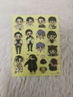 Exo chanyeol Sticker