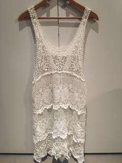 New Look Crochet dress