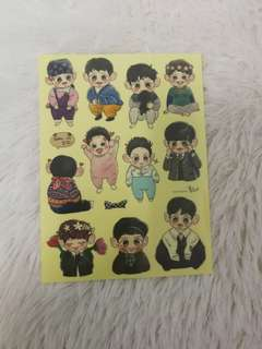 Exo Chanyeol Baby Sticker