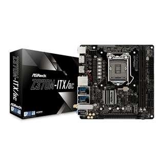 ASROCK Z370M-ITX/ac ITX Motherboard