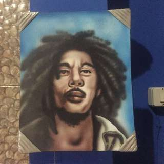 Pajangan Dinding Bob Marley / Wall Furniture