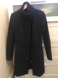 Charcoal winter coat