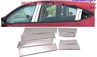 HRV MIDDLE AND REAR PILLAR COVER(8pc)