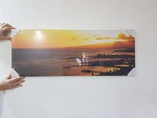 Art board sunset