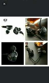 🆕🆒New KZ ZST Balanced Armature With DynamicIn-ear Earphone BA+DDDriver Noise Cancelling Headset