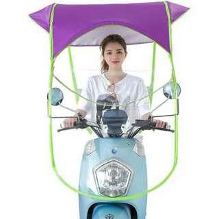 Motorcycle Rain Or Sun Sheild/Protector