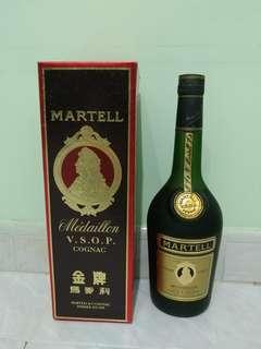 代售舊裝金牌馬爹利 Martell VSOP