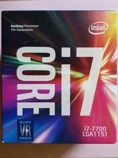 Intel Core i7-7700 Processor (CPU)