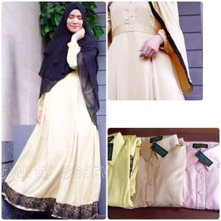 SALE DRESS SISA BUTIK
