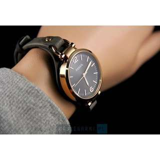 PROMO SALE - Fossil Womens ES3077 Georgia Rose Gold-Tone Stainless Steel Watch