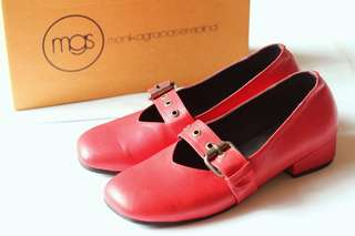 MGS Pier Shoes in Red