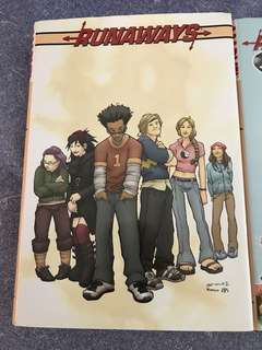 Marvel Runaways the complete series