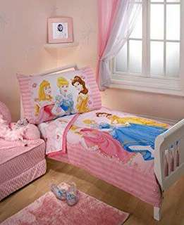 4 Piece Toddler Bed Set