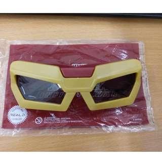 鐵甲奇俠3D 眼鏡 (100% 全新)