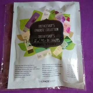 BRAND NEW SEALED FAVORITE COLLECTION FROM THE FACE SHOP