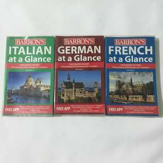 Barron's Dictionary European Languages