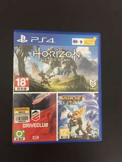 Horizon zero dawn + driveclub . 3 month plus member . Expired . Don't know can use it or not .