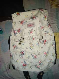 Preloved Cath Kidston backpack made in London