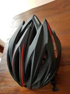 Kabuto cycling helmet (3 weeks old)