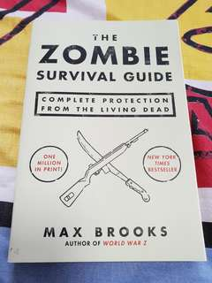 🚚 Zombie Survival Guide Max Brooks