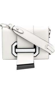Prada Ribbon Plexi Two-tone shoulder bag