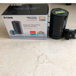 D-Link AC1200 Wireless Dual Band Gigabit router
