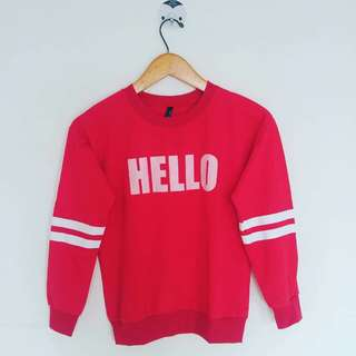 Sweater hello