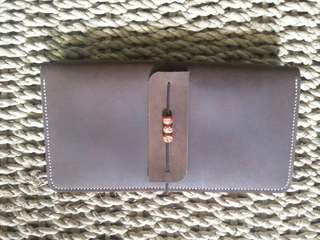 Refillable Leather Traveler's Notebook - Handcrafted Leather Journal