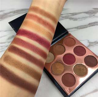 Beauty glazed pressed powder eyeshadow focallure