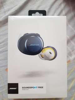 BRAND NEW BOSE SOUNDPORTS