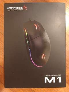 AFTERSHOCK Gaming Mouse M1 [Authentic]