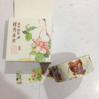 (FLASH SALE) Chinese Paintings Washi Tape