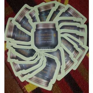 Innisfree Super Volcanic Pore Clay Mask 4ml (18 slots)