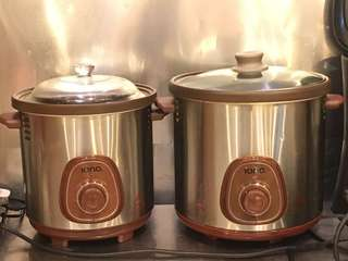 Iona Slow cookers 6L,6L, 8.5L
