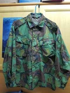 英軍叢林花上衣 迷彩外套